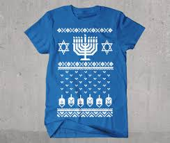 chanukah sweater t shirt