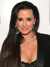 kyle richards hair extensions kyle richards talks wild facials waterproof mascara and her
