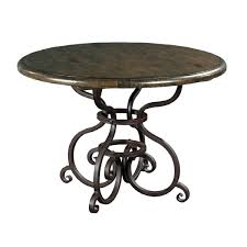 round dining table metal base tarheel home furnishings the furniture shoppe 44 round dining