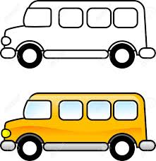 bus printable coloring page for children or you can