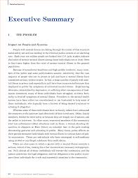 Executive Summary Sample For Resume by Resume Executive Summary Sample Free Resume Example And Writing