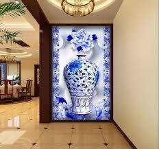 3d murals free shipping modern wall 3d murals wallpaper blue and white