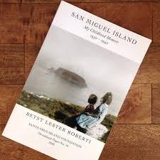 san miguel island my childhood memoir shop channel islands