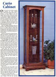 Contemporary Curio Cabinets Curio Cabinet China Cabinet Corner Curio Plans And Patterns
