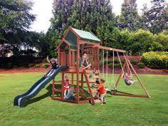 Backyard Discovery Weston Cedar Wooden Swing Set Backyard Discovery Weston Cedar Swing Set The O U0027jays Swings And If