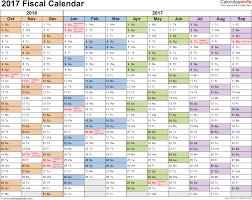 week planner template excel fiscal calendars 2017 as free printable excel templates template 1 fiscal year calendar 2017 for excel landscape orientation months horizontally