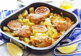 True Mediterranean Kitchen - greek chicken sheet pan dinner kitchen nostalgia