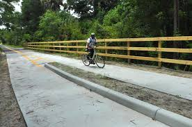 Daytona State College Campus Map by Coming Bike To New Smyrna Beach On Volusia Trails News