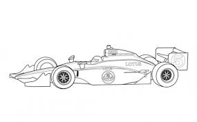 lotus indy car coloring page free online cars coloring pages for