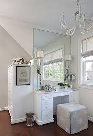 Built In Vanity Dressing Table Gray Dressing Room Walls Design Ideas