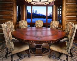 Dining Room Set For 12 Dining Tables Amazing Wood Round Dining Table Wood Round Dining