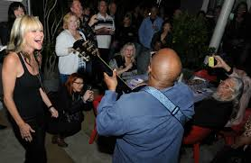 who were mindi abair u0027s birthday party guests in hollywood
