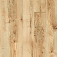 shop style selections 5 23 in w x 3 93 ft l rustic honey maple