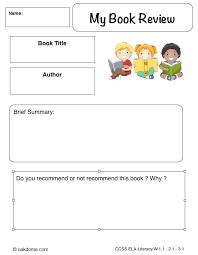 book report format for 2nd graders stackingportfolio cf