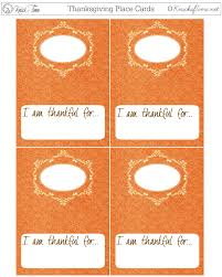 thanksgiving printable place cards knick of time