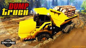 dump truck l v0 01 for spin tires 2014 zagruzka mods com