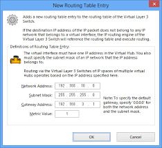 Windows Routing Table 3 8 Virtual Layer 3 Switches Softether Vpn Project