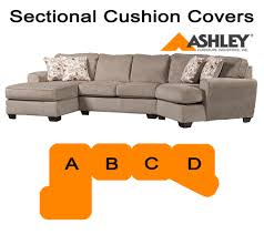 Ashley Furniture Patola Park Sectional Ashley Patola Park Sectional Replacement Cushion And Cover 12900