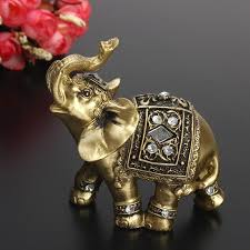exquisite feng shui elephant statue lucky wealth