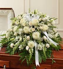 port orange florist mixed white casket spray in port orange fl port orange florist