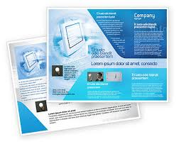 digital brochure templates digital computing technology brochure
