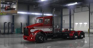 2016 kenworth kenworth t800 classic v2 skin mod american truck simulator mod