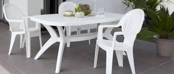 Contemporary Dining Table Contemporary Dining Table Plastic Rectangular Garden Ibiza