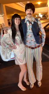 diy halloween couples costumes we were sonny and cher mostly