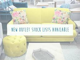 does it or list it leave the furniture new stock lists for our outlet brands are available now we