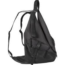 Split Cowhide Cote U0026ciel Ganges Medium Alias Split Cowhide Leather Backpack Agate