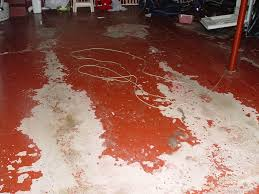 Paint Concrete Floor Ideas by Concrete Garage Floor Paint Epoxy The Best Concrete Garage Floor