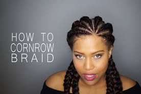 cornrow hair to buy different colour how to cornrow or dutch braid your natural hair samantha