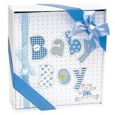 white and blue baby boy photo album 4x6 photos baby