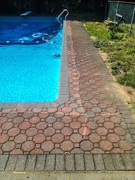 Pool Patio Pavers by Powerwash Unlimited