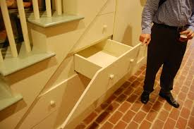 Space Saving Stairs Design Outstanding Ideas For Space Saving Staircase Design With Cream
