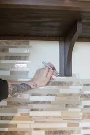 kitchen island wall how to create an easy kitchen island tile backsplash