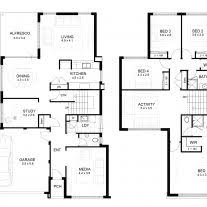 bedroom plans designs home architecture two storey house floor plan designs sles
