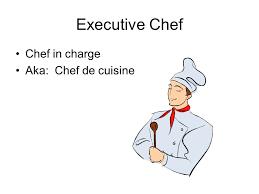 logo chef de cuisine the kitchen brigade by auguste escoffier ppt