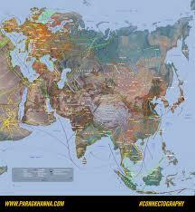 Map Of Eurasia The Infrastructural Silk Roads That Will Unite Eurasia U2014 Parag Khanna