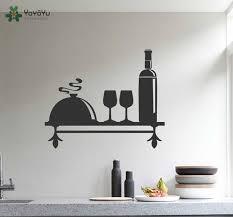k che wandtattoo küche wandtattoo regal muster vinyl kunst wand wein thema