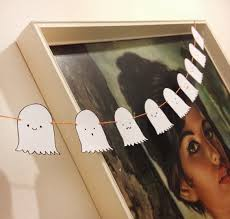 diy halloween ghost bunting with free print out miss v viola