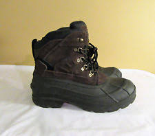 s kamik boots size 9 kamik leather boots s footwear ebay