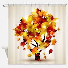 fall shower curtains fall fabric shower curtain liner