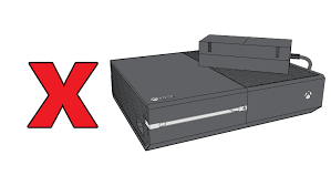 Top Right Or Right Top Position Xbox One S Or Xbox One Console Correct Placement For