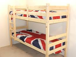 Ft  Small Single SHORT LENGTH Solid Pine LOW Bunk Bed - Small single bunk beds