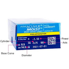 Most Comfortable Contacts For Astigmatism 1 Day Acuvue Moist For Astigmatism Contact Lenses Feel Good