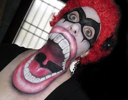 Halloween Makeup Contest by Monster Mouth Evil Clown For Clio Halloween Contest Winner Youtube