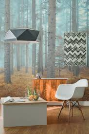 16 best landscape wall murals images on pinterest wall murals achieve scandi with these dreamy forest wallpaper murals