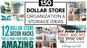 172 dollar store hacks to help you save organise u0026 thrive life