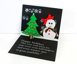 easy christmas card craft for kids growing up bilingual